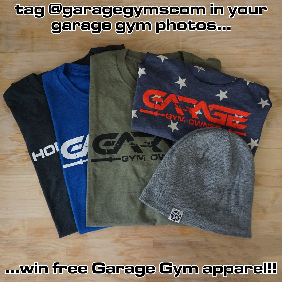 Garage gym apparel ppi