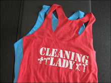 Cleaning Lady Women's Racerback Tank Top