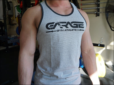 'Garage Gym Athlete' Alternative Premium Tank - Ivory