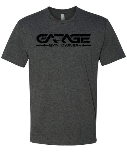 Garage Gym Owner T-Shirt - Gray and Black