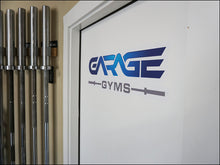 "Garage Gyms 26"" Wall Graphics"