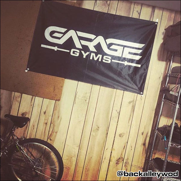 Custom garage banners best gym sign for your home gym images