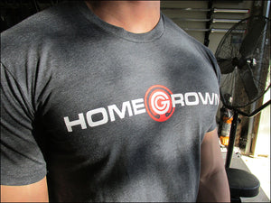 Home Grown CVC Crew - Charcoal Grey