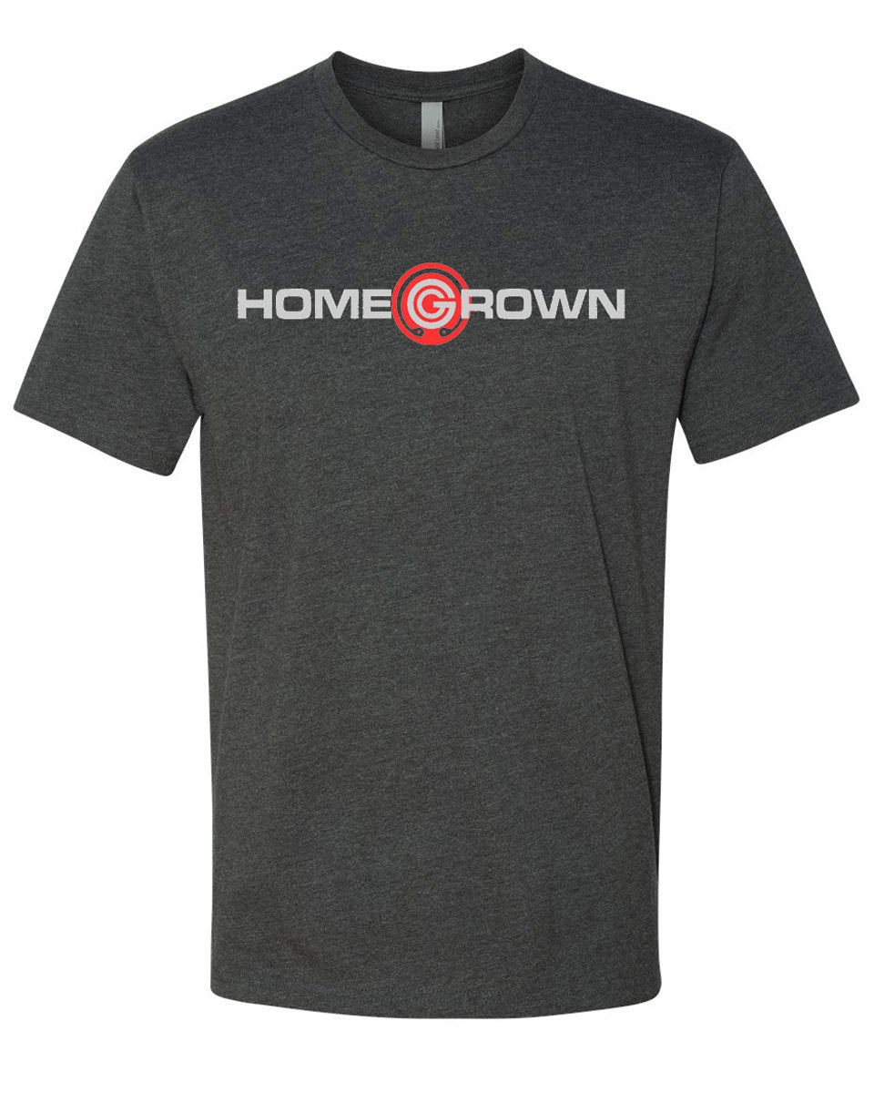 Home Grown T-Shirt - Charcoal Grey
