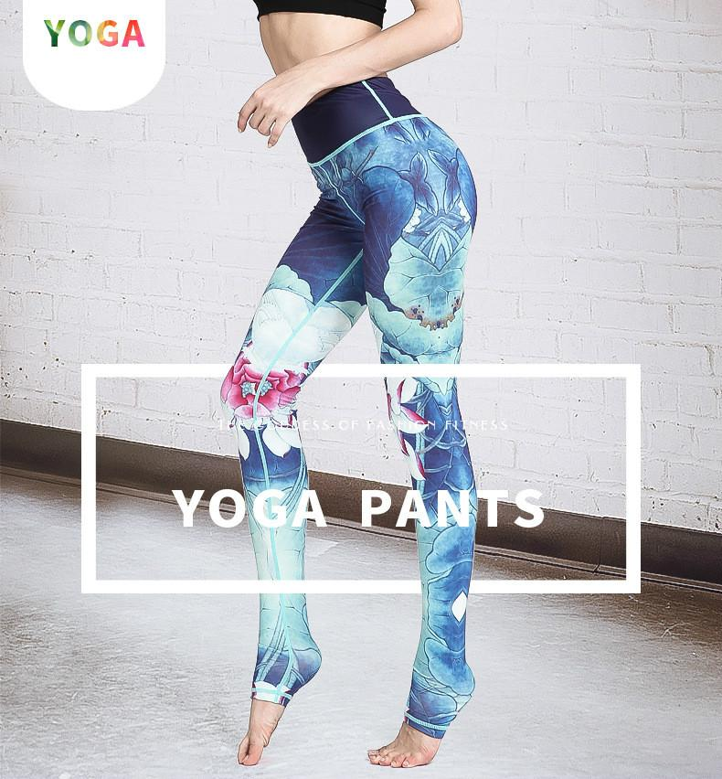a1a157211e SUPTA Blue Lotus LEGGINGS - YanOne