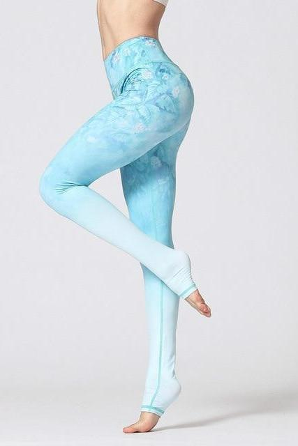 d8b6443145 UTTANA Flower grass LEGGINGS - YanOne