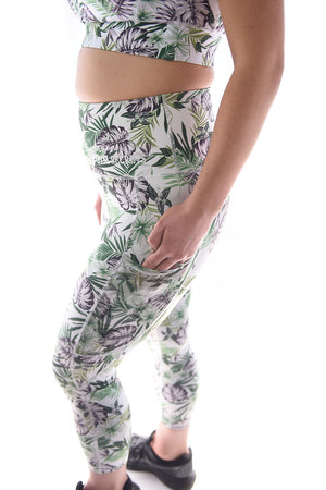 Jungle Fever High Waisted Tights