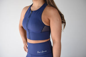 Midnight Blue Sports Bra