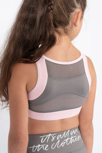 Mini Stone & Blush Crop