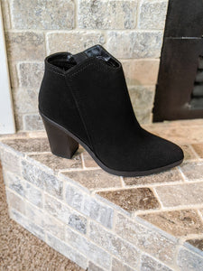 Own The Night Black Booties