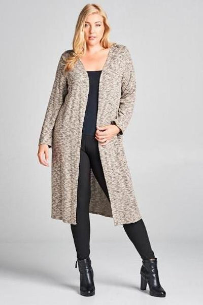 Kind of a Big Deal Mocha Cardigan