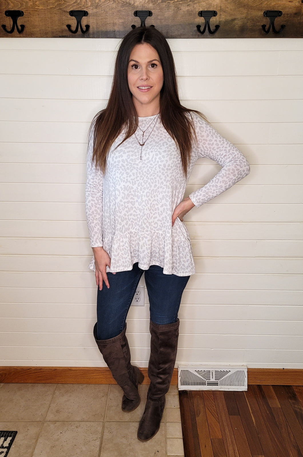 Step Up Leopard Tunic