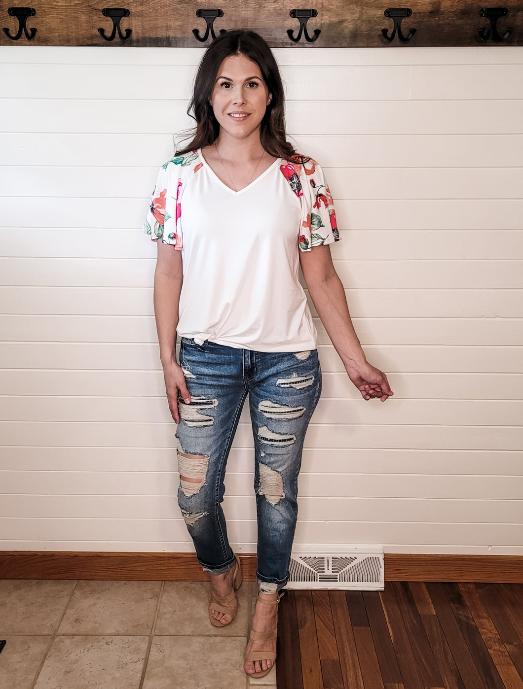 Love Is Patient Floral Top