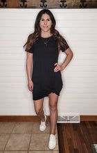 A Cute Black Tee Dress
