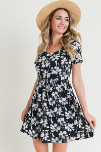 Going My Way Floral Dress