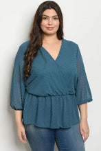 Wild About Teal Blouse