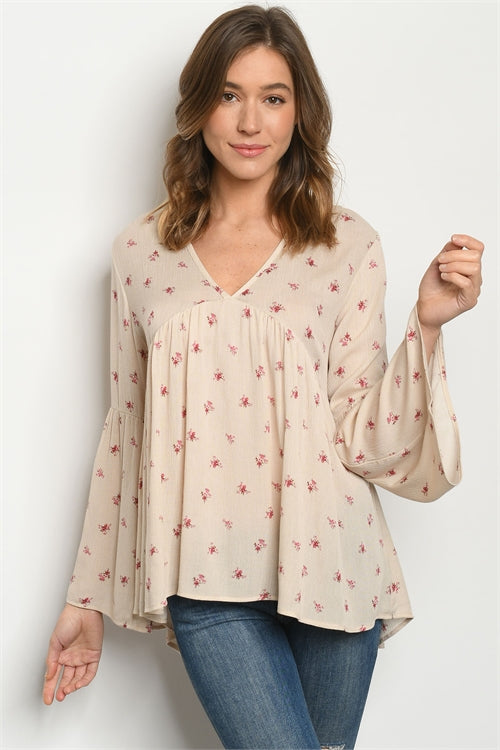 Go With The Flow Floral Top