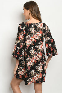 Got My Attention Floral Dress
