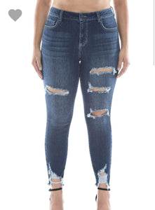 Blue Jean Baby Cello Cropped Jeans