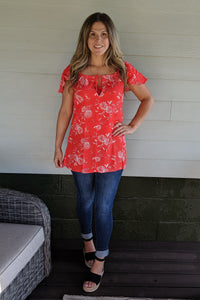 Hot Tamales Tunic Top