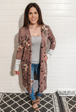 Styled Right Mauve Floral Cardigan