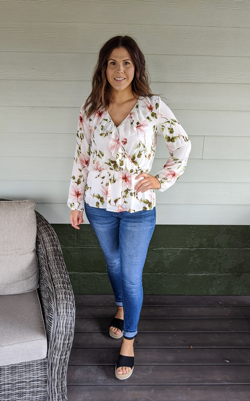 Refreshed Floral Blouse