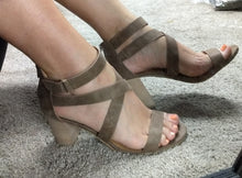Tanned Beauty Block Heels