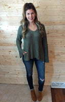 Better Together Sweater - Olive
