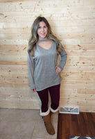 Sweet Feelings Tunic Sweater