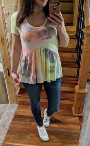Wild At Heart Tie Dye Top