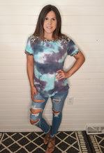In The Clear Print & Tie Dye Top