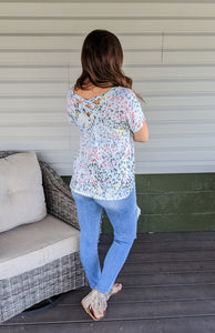 A Beautiful Life Print Top