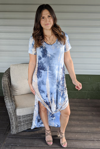 Out of the Blue Maxi Dress