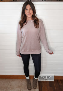 The Perfect Mineral Wash Pullover