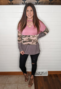 Not Alone Camo Tunic