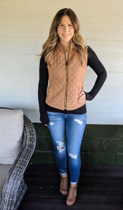 Handle It Quilted Vest