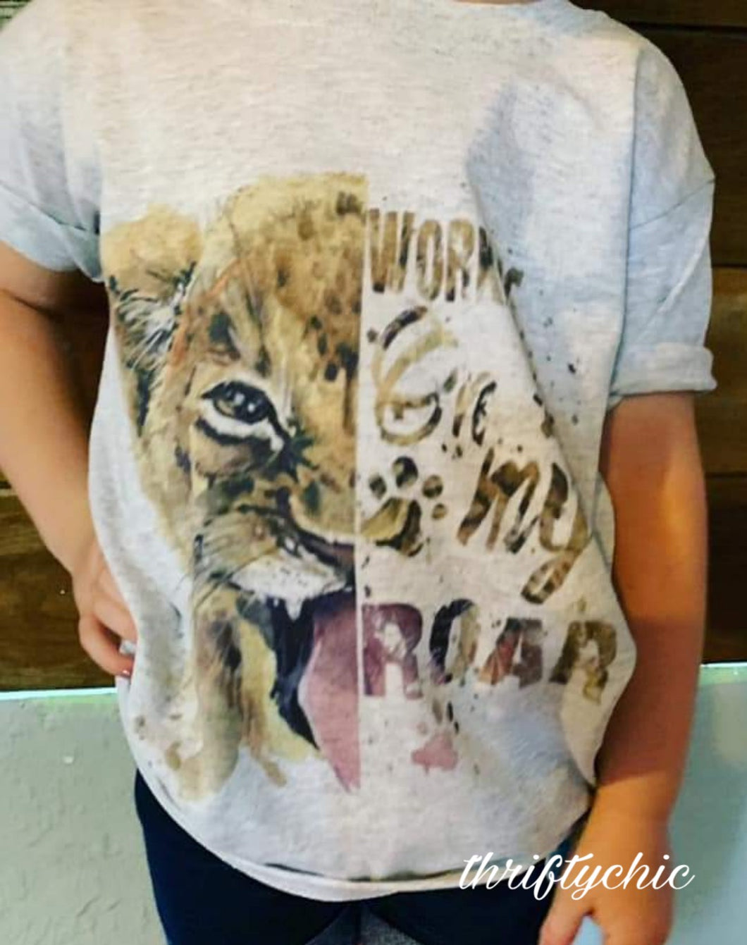 Graphic - Kids - Working On My Roar