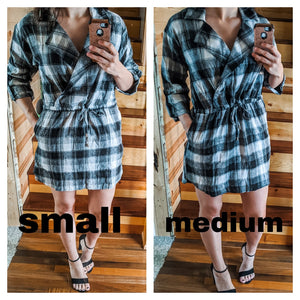 Nothing Basic Plaid Dress