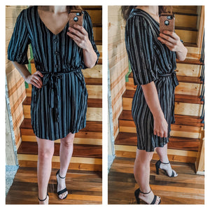 Risky Business Striped Dress