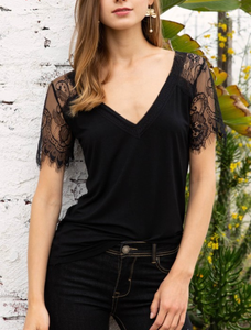 The Evelyn Lace Top