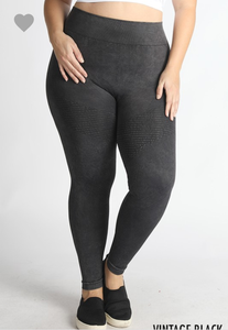 No Stopping Her Now Leggings - Curvy