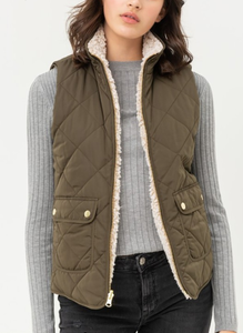 So Chic Reversible Vest