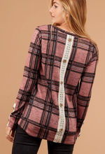 Simply Sweet Plaid Top