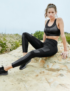 Determined Faux Leather Leggings