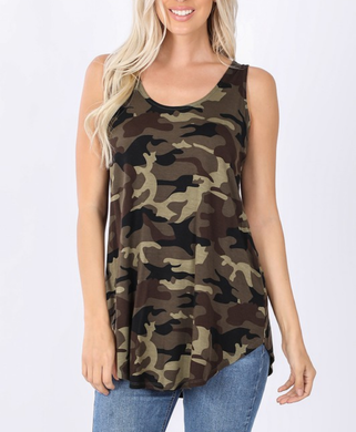 Saving Grace Camo Tank