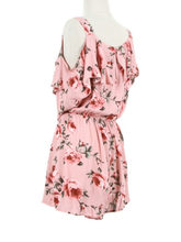 Do Yourself A Favor Floral Romper