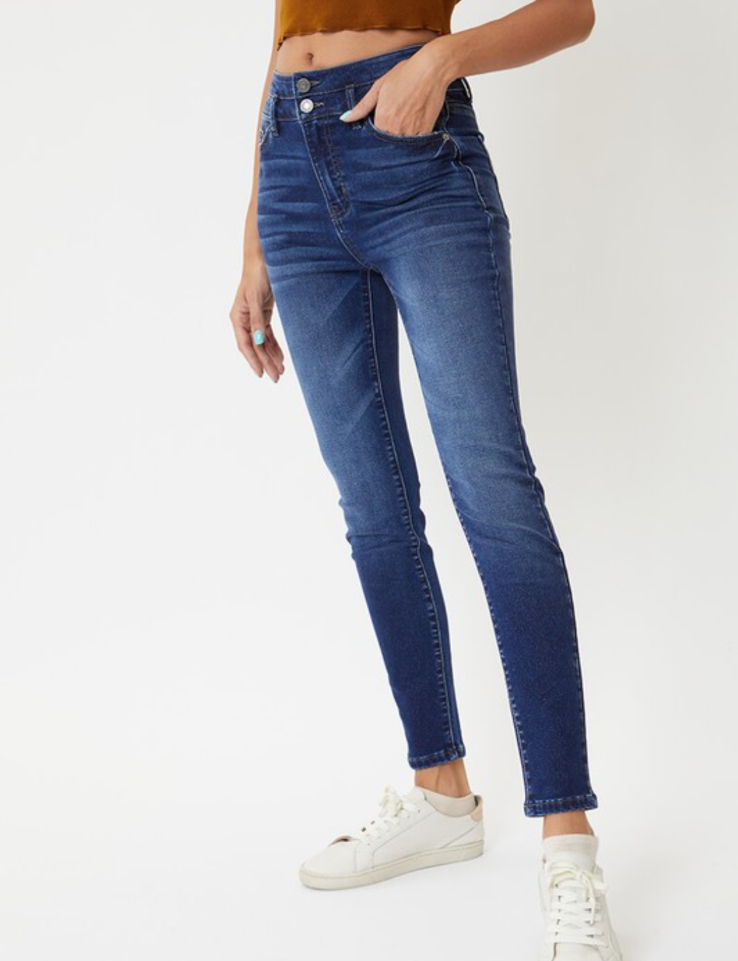 A Little Sparkle ~ High-Rise KanCan Jeans
