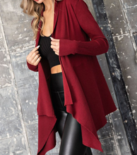 Dress It Up Wine Cardigan