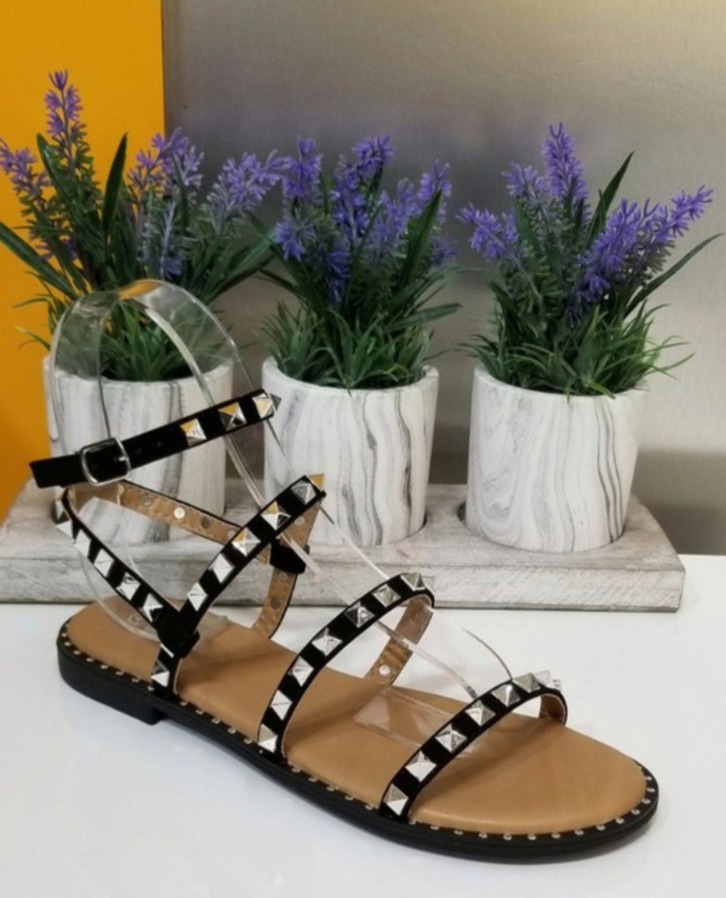 All The Stars Studded Sandals