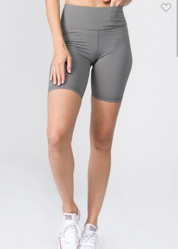 Be The Best Biker Shorts ~ Charcoal
